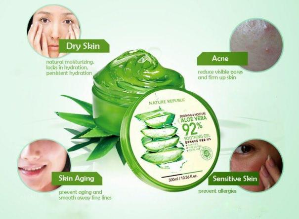 function Nature Republic Aloe Vera Soothing Gel