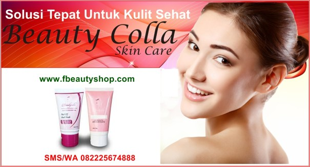 Beauty Colla Lotion dan Scrub