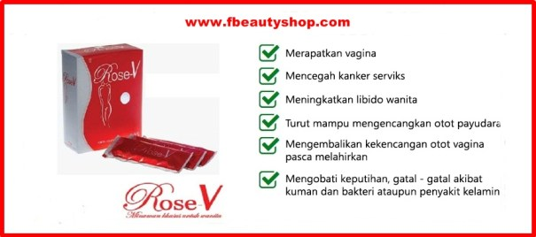 manfaat rose V asli