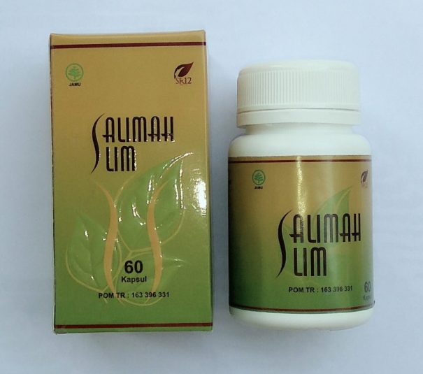 Salimah Slim SR12 Kapsul Pelangsing Herbal