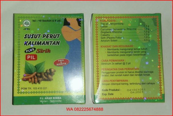 Jamu Susut Lemak Kalimantan Plus Sirih