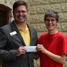 Donation from Hill Country Young Professionals and the Fbg Chamber of Commerce