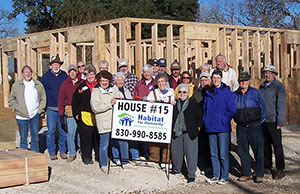 Care-A-Vanners Lend Helping Hand to Habitat House #15