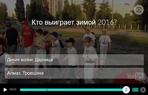 Видео опрос
