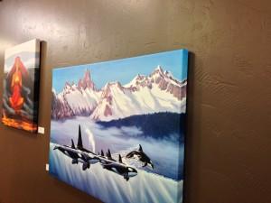 Herb Kane canvas gallery wrap prints at Fine Balance Imaging Studios