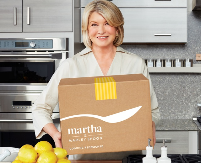 How to get Seasonal ingredients and delicious recipes delivered directly to your door, by Martha Stewart