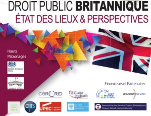Colloque « Le droit public britannique »  @ Le Grand Cercle | Saint-Étienne | Rhone-Alpes | France