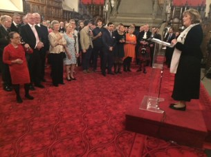 2018-09-28 Brexit Colloquium - Reception at Edinburgh Castle (by Simon Horsington) (3)