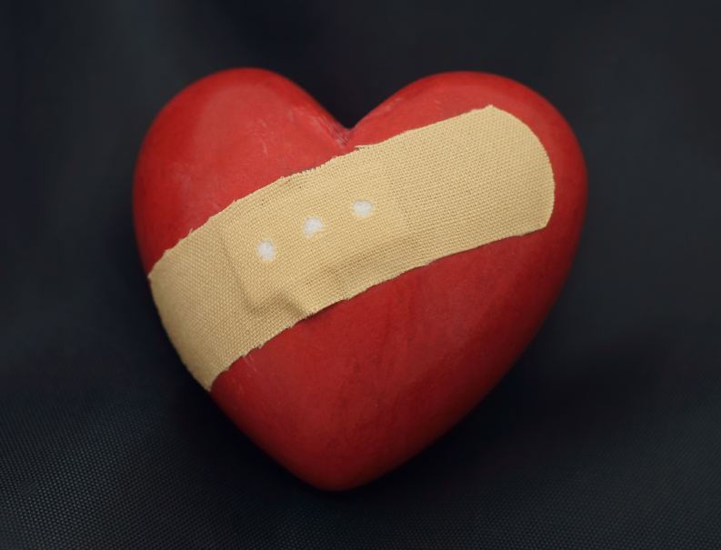 "Heart ""Bandage"" Reduces Damage in an Attack"