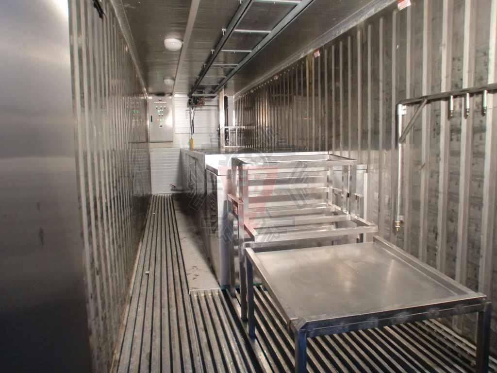 Vista Interior fábrica Gelo