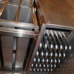 Pormenor cubas e evaporador Inox 316L - F. Brigido