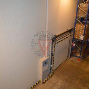 Vista Exterior 1 Câmara Frio Porta automática - F. Brigido