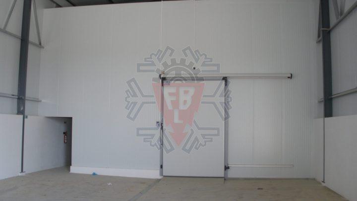 Vista Frontal Câmara Frio - F. Brigido