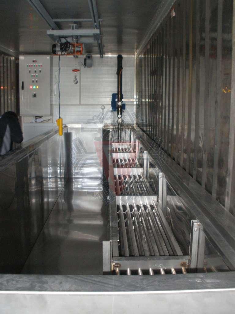 Evaporador em INOX AISI 316L