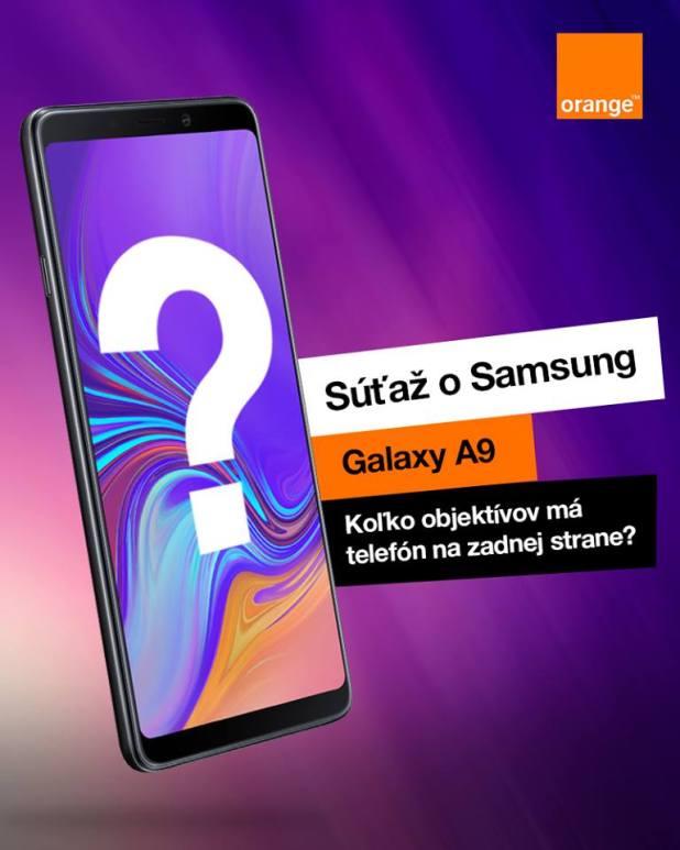 Zapojte sa do TOP súťaže o nadupaný smartfón Samsung Galaxy A9. f8fdbe6dee7