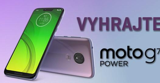 Zapojte sa do TOP súťaže o smartfón Motorola moto g7 power! e13d0881910