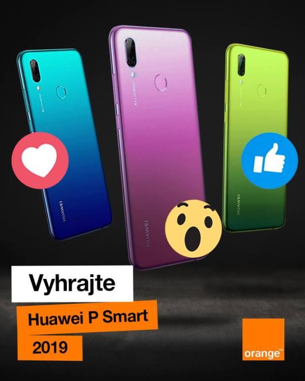 Zapojte sa do TOP súťaže o smartfón Huawei P Smart 2019! 7271c6014b2