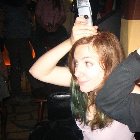 phone on head