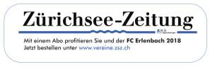 Sponsor FC Blau-Weiss Erlenbach Zürichsee-Zeitung