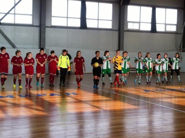 2 тур чемпионата Ростовской области по мини-футболу среди женских команд 2017 года