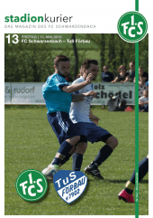 13 Stadionkurier FCS vs TuS Förbau