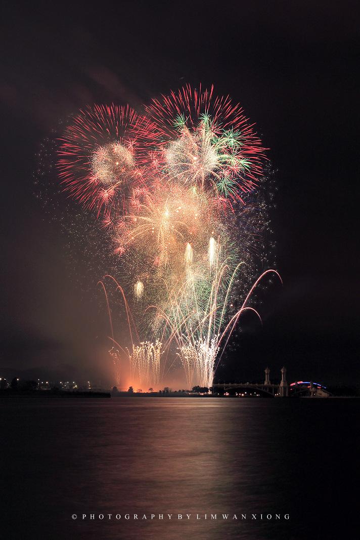 new year fireworls