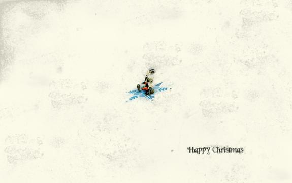 Happy Christmas, HD Wallpaper
