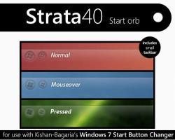Customization > Start Buttons