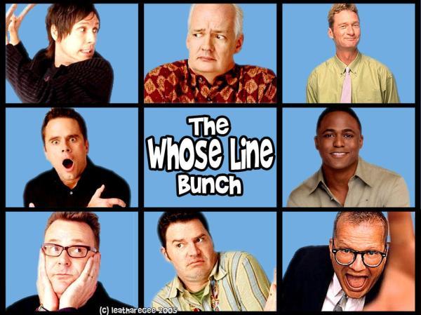 Whose Line? El post que le faltaba - Taringa!