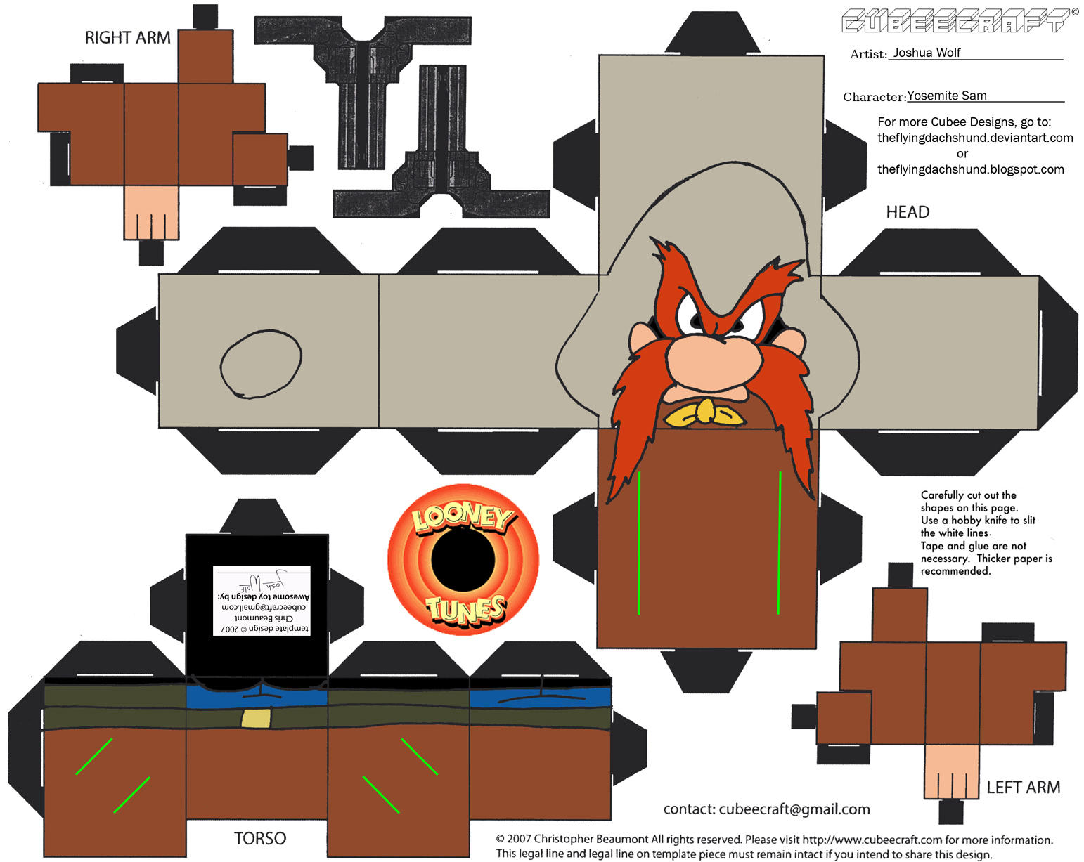 Cubeecraft De Los Famosos Personajes De Looney Tunes