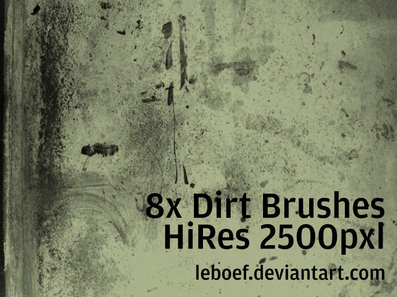 Dirt Brush Set by leboef