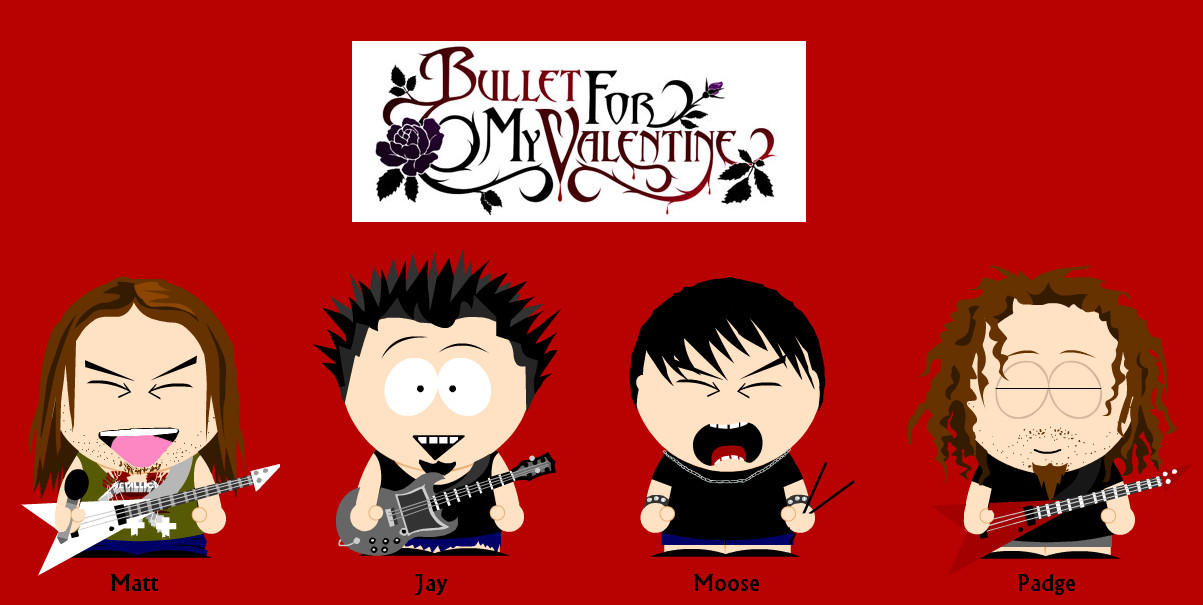 Bullet For My Valentine SP By Sam X Frank On DeviantArt