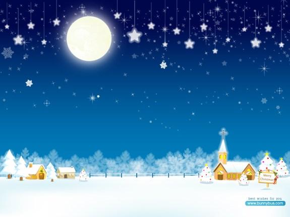 Christmas Night, HD Wallpapers