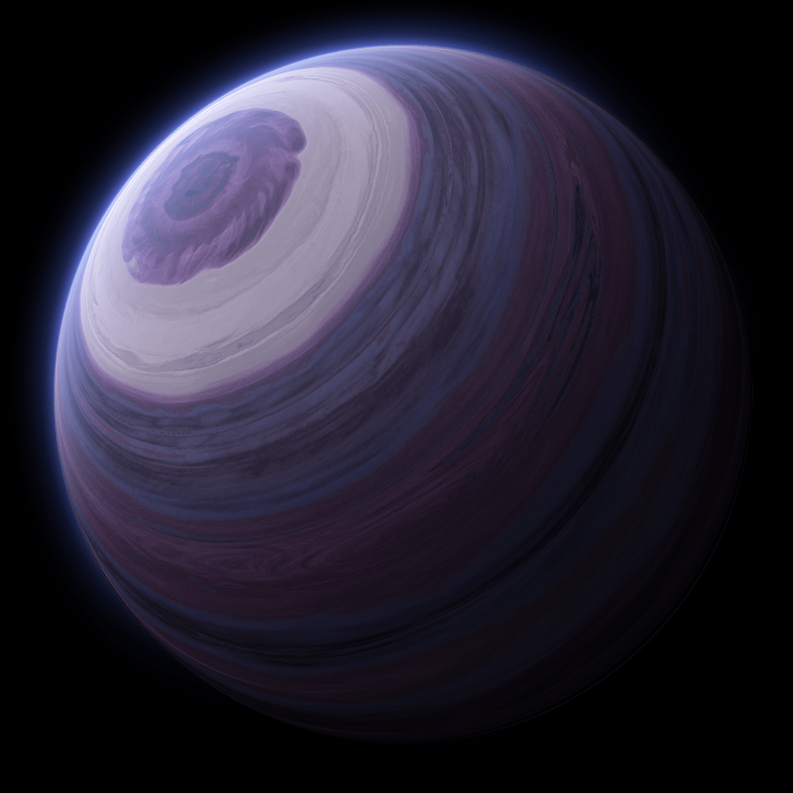 .psd planet stock gas giant by sewer-pancake
