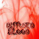diffused blood brushes