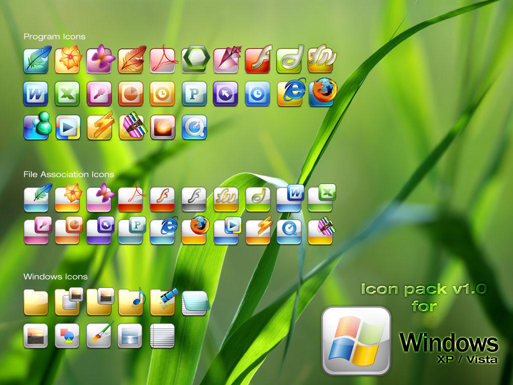 Get MAC Type icon pack for Windows XP and Vista | Ask Prateek | The