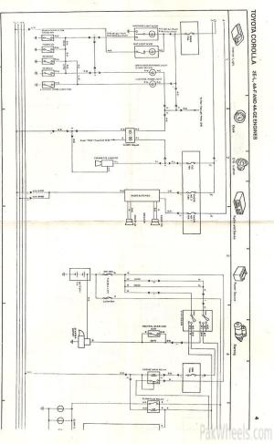 Toyota Corolla repair manual for EE90,AE92 from 198791