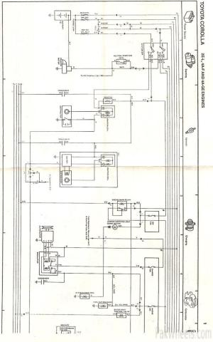 Toyota Corolla repair manual for EE90,AE92 from 198791