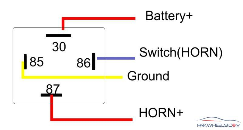 How To Install Relay With Horn?
