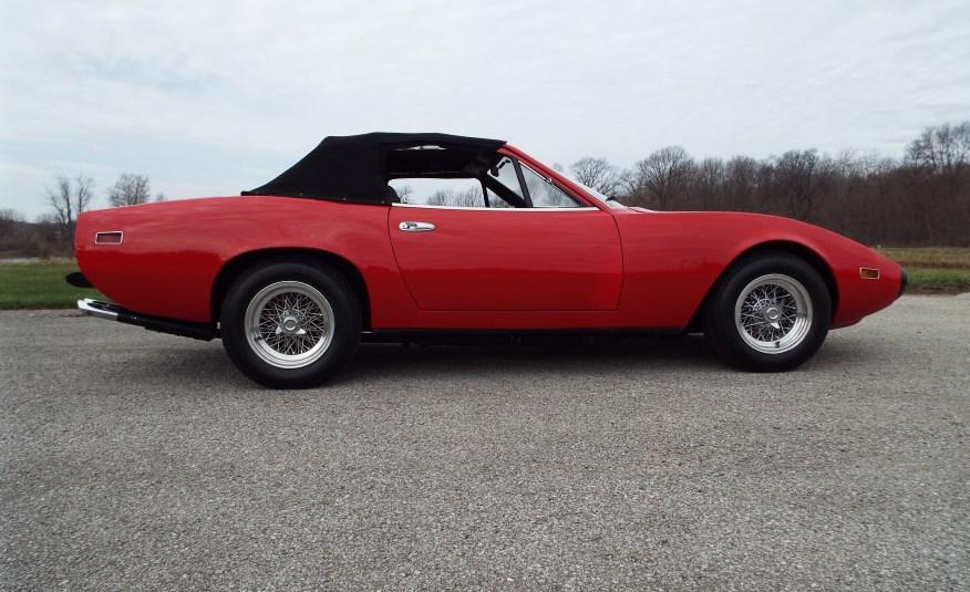1973 365 GTC/4 Spyder Conversion