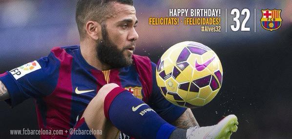 Happy birthday Daniel alves