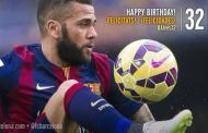 Happy birthday Daniel alves
