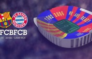 This will be the FC Barcelona v FC Bayern mosaic