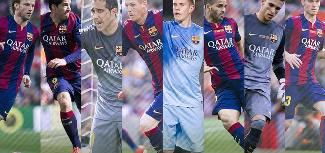 14 players made their first appearance under Enrique's management