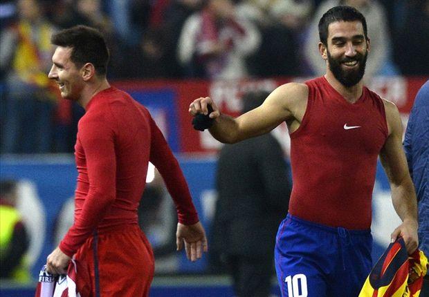 Turan praises new teammate Messi