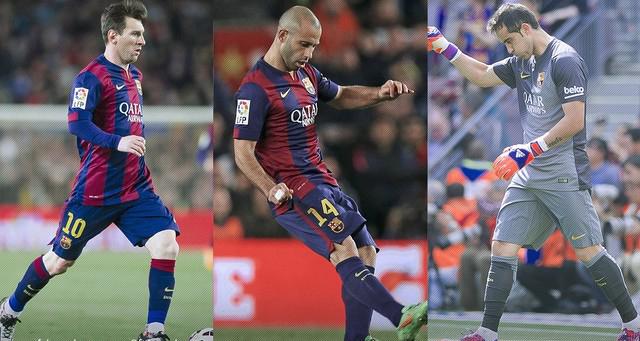Bravo's Chile and Messi and Mascherano's Argentina contest Copa América final