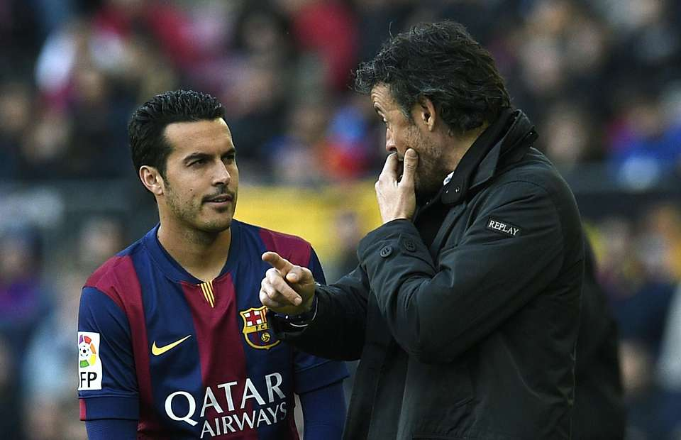 Luis Enrique, Pedro could leave to an English Team