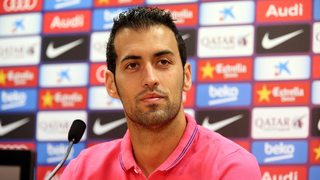 Sergio Busquets reveals coaching ambitions