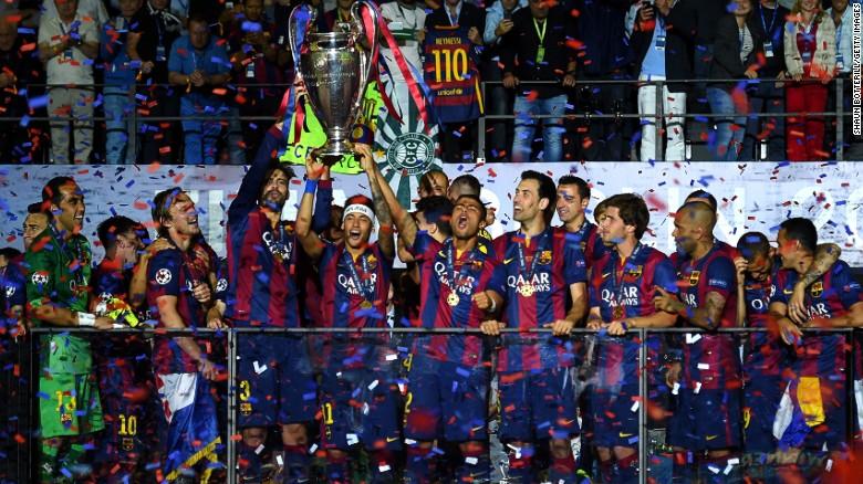 Barca win club of the year award