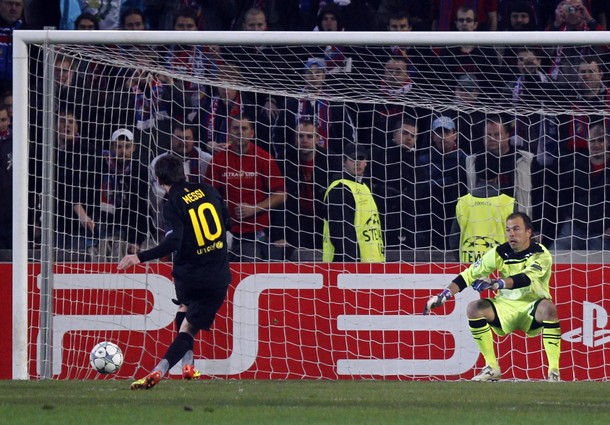 Enrique insists for Messi to take penalties
